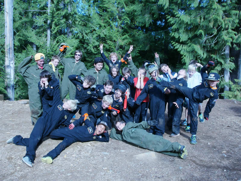 Kids Parties at Avalanche Paintball Whistler